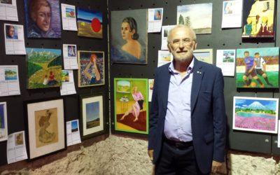 Arte e solidarietà nella sala mostre del Comune