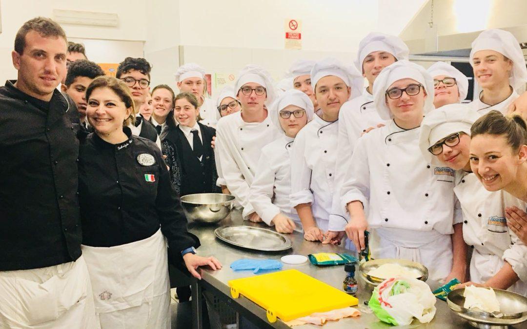 Rieti, arte e comunicazione del food: protagonisti gli studenti dell'Alberghiero di Amatrice