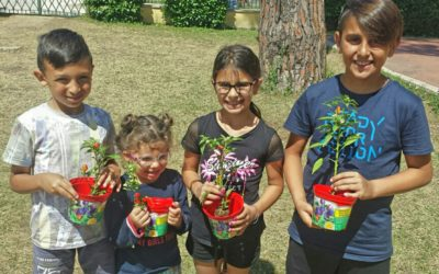 """""""Adotta un peperoncino"""": i benefici sui piccoli partecipanti"""