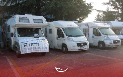Raduno camper in occasione della Fiera Mondiale Campionaria del Peperoncino 2019