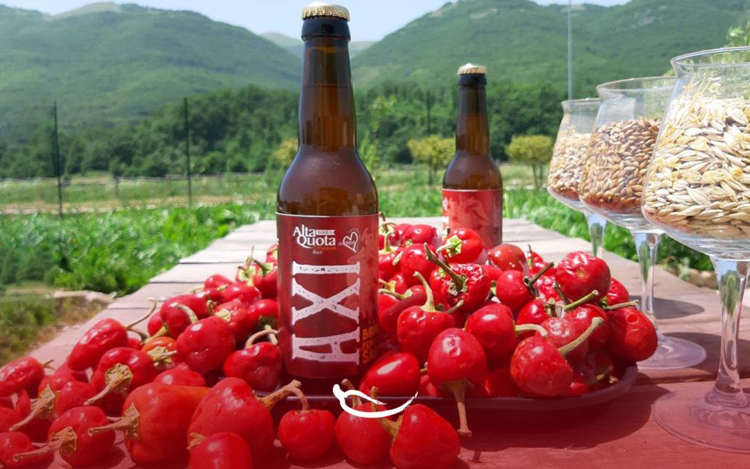 "Arriva ""AXI"", la birra al Peperoncino Sabino del birrificio ""Alta Quota""!"