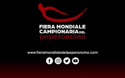 Fiera Mondiale del Peperoncino: marketing, merchandising e comunicazione viaggiano esclusivamente attraverso i canali ufficiali