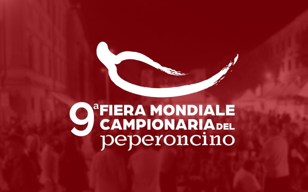 Martedì 10 Settembre alle 11:30, conferenza stampa conclusiva Fiera Mondiale Campionaria del Peperoncino.