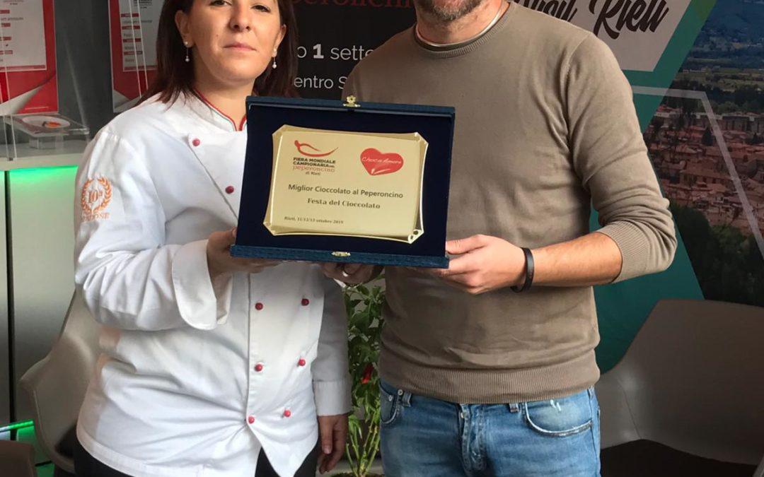 La Fiera Mondiale Campionaria del Peperoncino alla Festa del Cioccolato: premiata la migliore piccante!