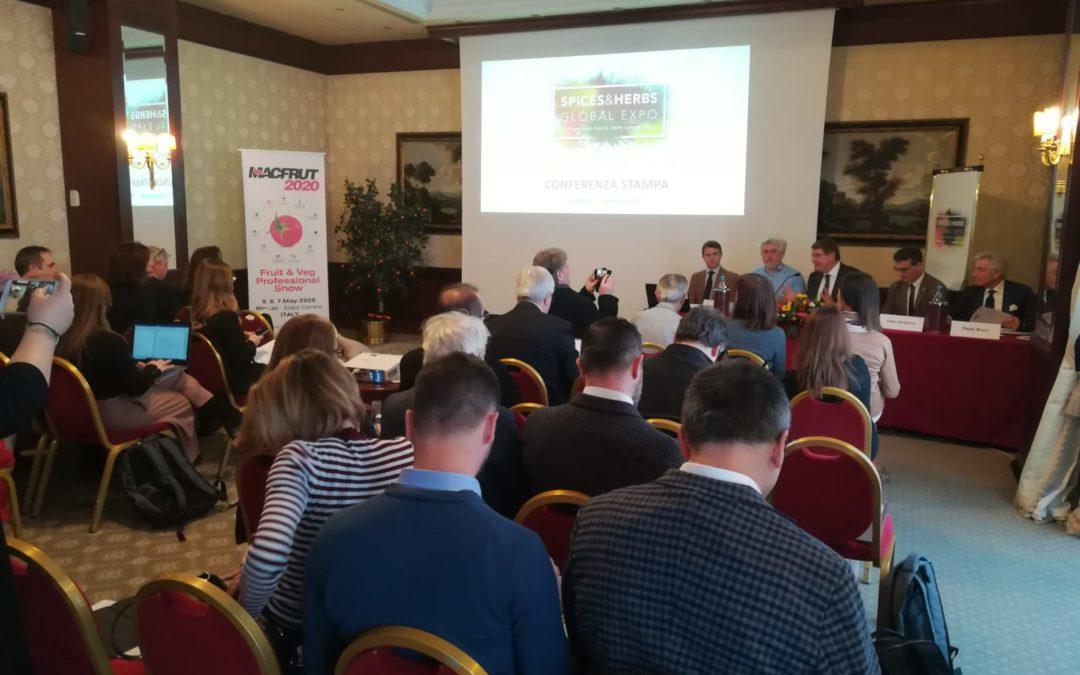 """La Fiera Mondiale Campionaria del Peperoncino di Rieti al Salone """"Spices & Herbes Global Expo"""" del Macfrut di Rimini."""