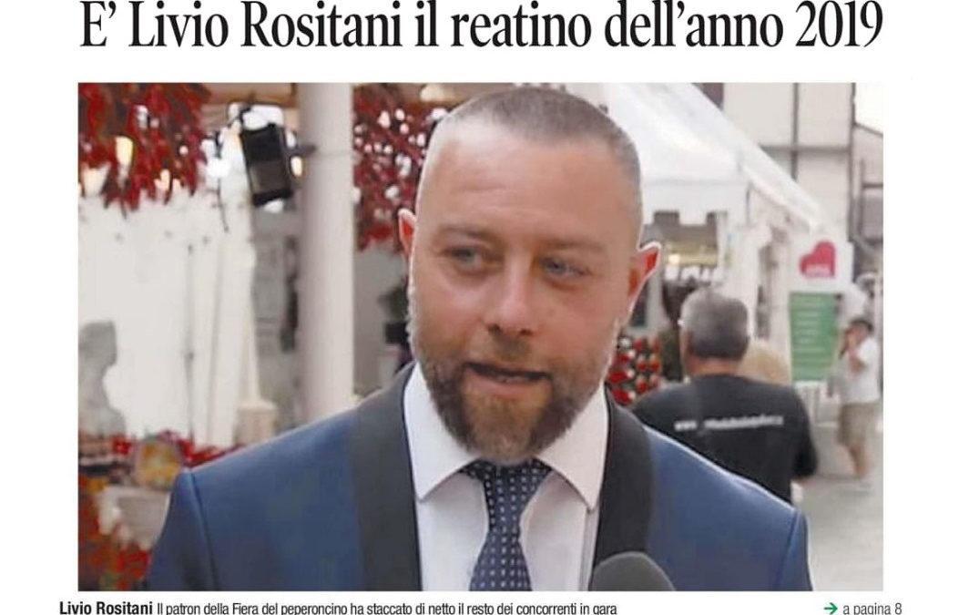 """""""Reatino dell'anno 2019"""". Vince la Fiera Campionaria Mondiale del Peperoncino!"""