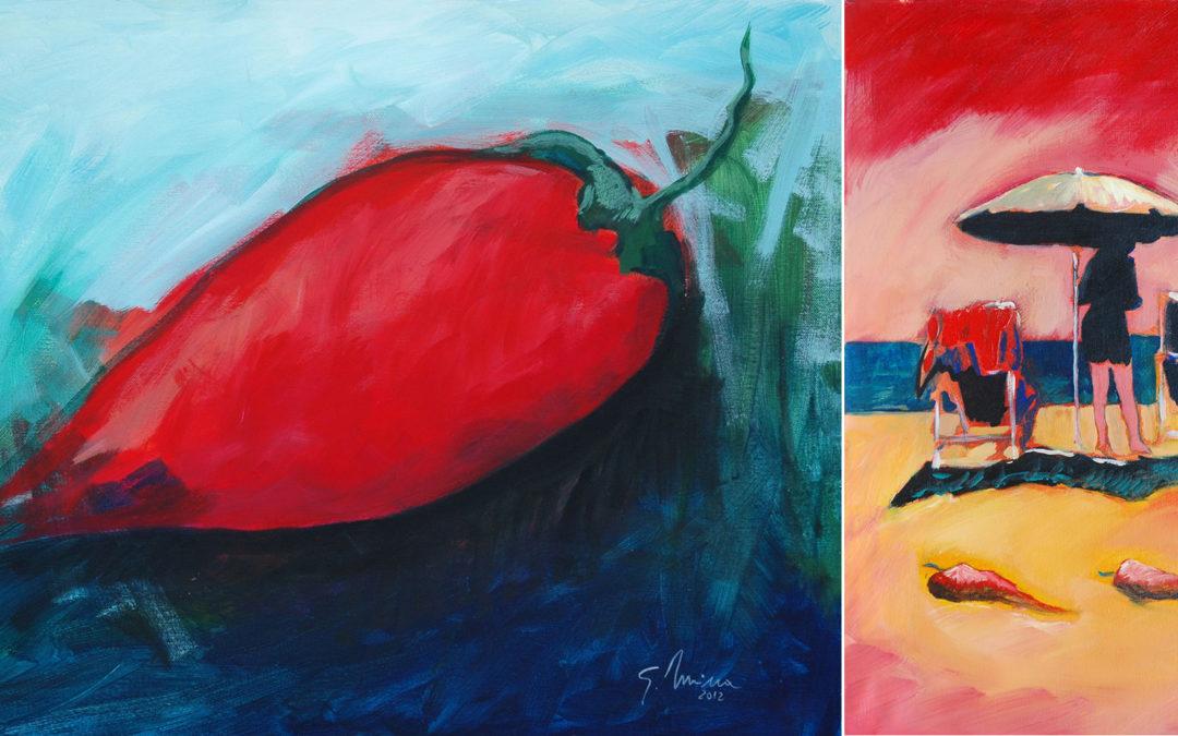 La Fiera Mondiale Campionaria si promuove anche con l'arte: due opere dedicate al peperncino in esposizione a Colonia (Germania).