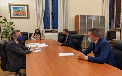 Fiera Mondiale Campionaria del Peperoncino: il presidente Rositani ricevuto dal sottosegretario all'agricoltura Battistoni