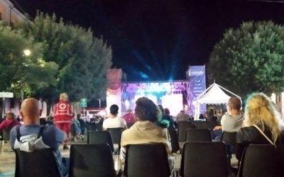 Comunicazione per l'accesso ai varchi per il concerto a Piazza Mazzini